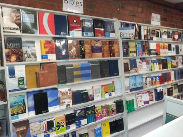 Wide selection of Bibles