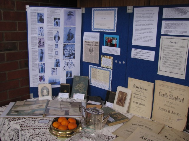 Some of the historic items on display