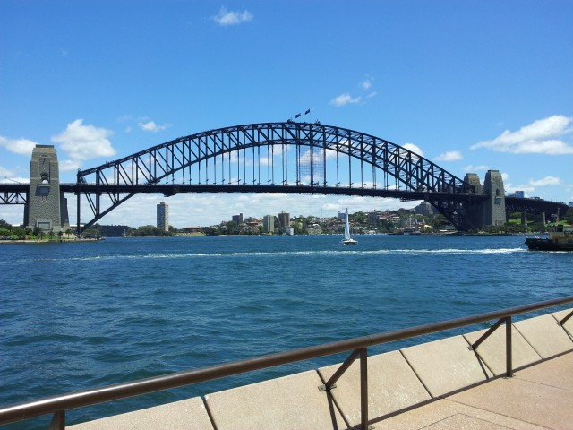 Sydney Harbour Bridge (Photo Trevor Hampel)
