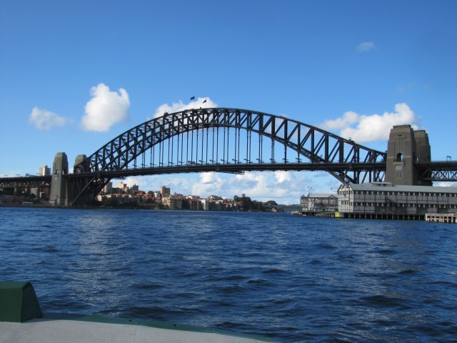 Sydney Harbour Bridge (photo credit T. Hampel)